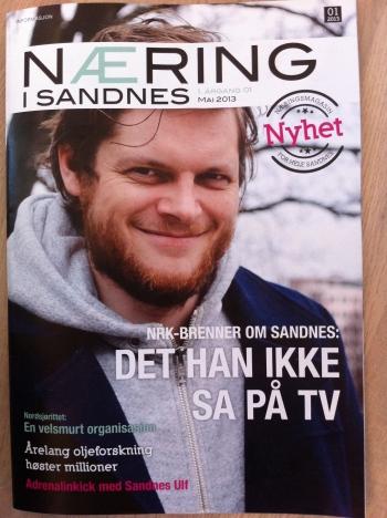 Hans Olav Brenner / Næring i Sandnes