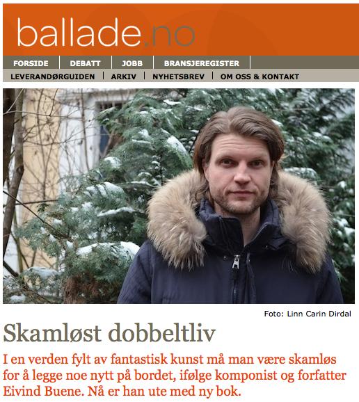 Eivind Buene_Ballade