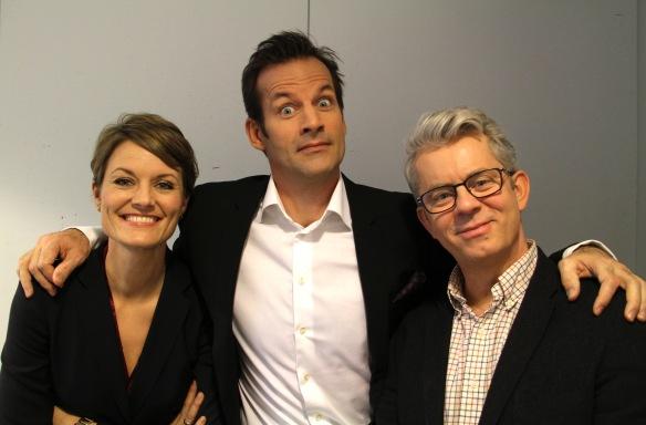 Pernille Sørensen, Jon Almaas og Knut Nærum. Foto: Linn Carin Dirdal