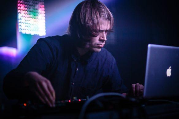 André Bratten på Ekko-festivalen. Foto: Oddbjørn Steffensen