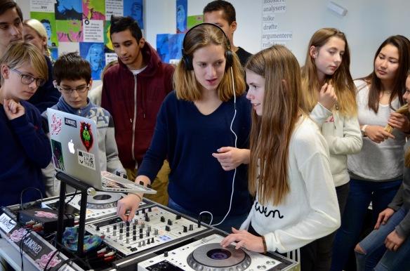 Oh Mama! Crew DJ-skole, Majorstuen skole. Foto: Linn Carin Dirdal