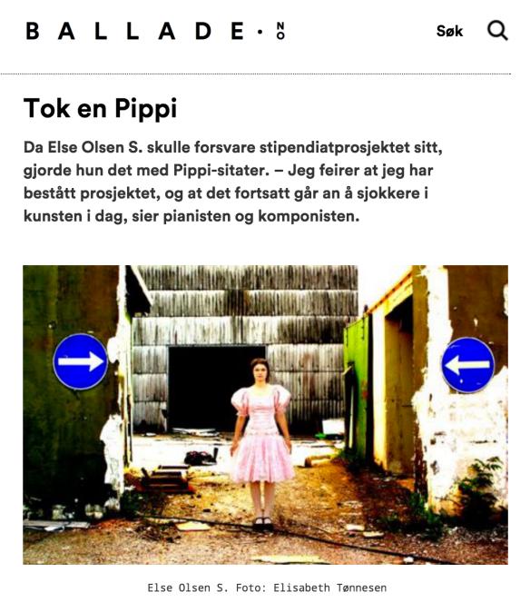 Intervju: Else Olsen S.