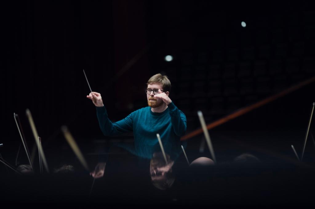 Dirigent Nils Erik Måseidvåg. Foto: Kyrre Lien