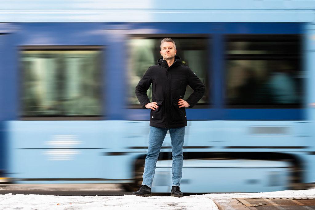 Truls Ramberg, kurator ved KORO. Foto: Niklas Hart