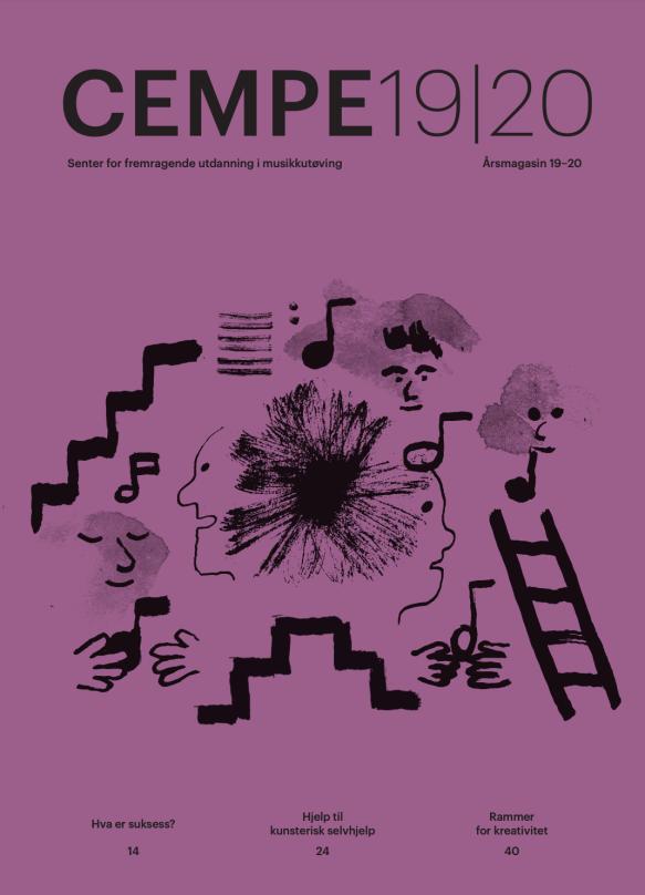 CEMPEs årsmagasin. Ilustrasjon: Espen Friberg